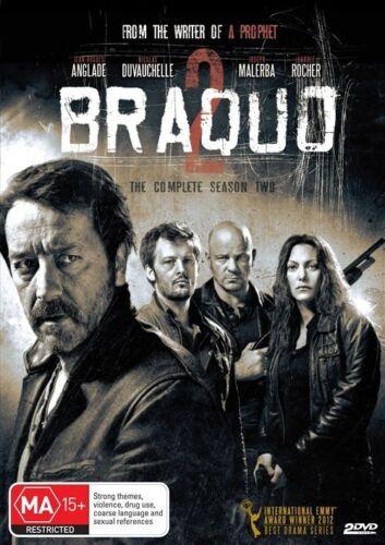 1 of 1 - Braquo : Season 2 (DVD, 2013, 2-Disc Set) - Brand New & FREE POSTAGE