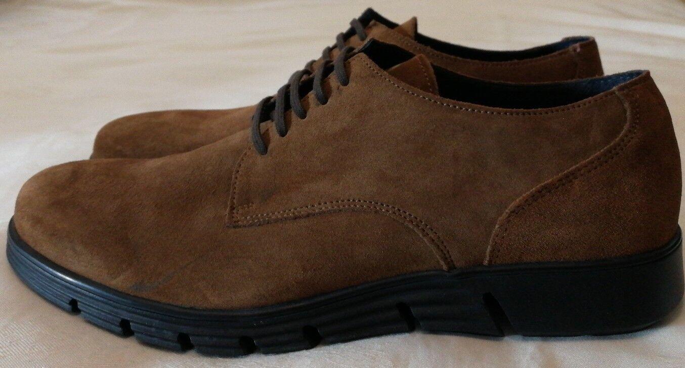 FLORSHEIM Suede Lace-up Schuhe Braun Größe uk 8 eu 42