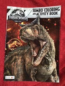 Jurassic World Para Colorear Actividad Libro Juego T Rex Dinosaurio Carnosaurus Cubierta Ebay Aquí, en esta categoría, podrás colorear dibujos de branquiosaurios, velociraptos, trianosaurios, diplodocus y muchísimos ¡es muuchísimo tiempo! mxn