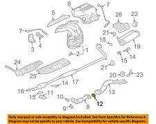 genuine mitsubishi converter pipe seal mr450702 ebay rh ebay com mitsubishi exhaust brake diagram 2003 mitsubishi eclipse exhaust diagram