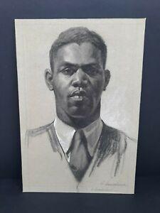 Original-Portrait-Drawing-African-American-Man-By-Simon-Vanderlaan-SV62