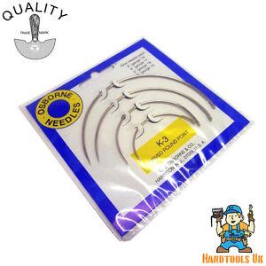 K-5 Straight Single Round Point Upholstery Needle Kit Osborne No