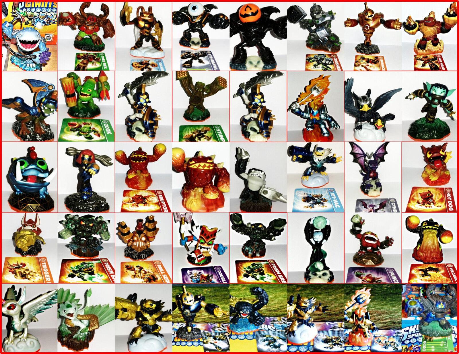 Skylanders Giants Modellini Selezione per: Ps3, Ps4, Xbox, Wii, Dsi, U, Elite,