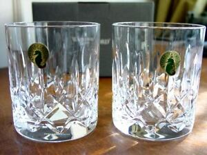 d4ce6d59620 Image is loading Waterford-Crystal-MOURNE-DOF-Double-Old-Fashioned-Tumblers-