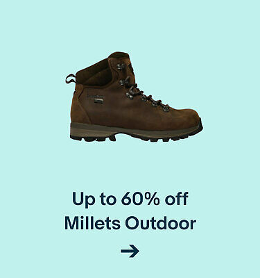 Up to 60% off  Millets Outdoors