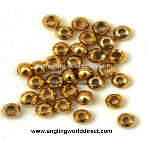 5mm Brass beads for Fly-Tying Gold #1