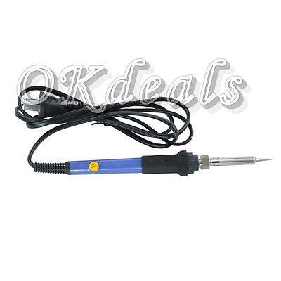 New 220V 60W Adjustable Temperature Welding Solder Soldering Iron Electric Tool