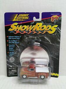 Rare-Johnny-Lightning-Show-Rods-Wild-Cat-Custom-Ford-White-Lightning-Chase