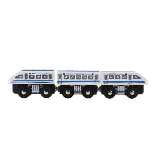 Holzeisenbahn Waggon Holzspielzeug mit fast allen Schienenbahnen