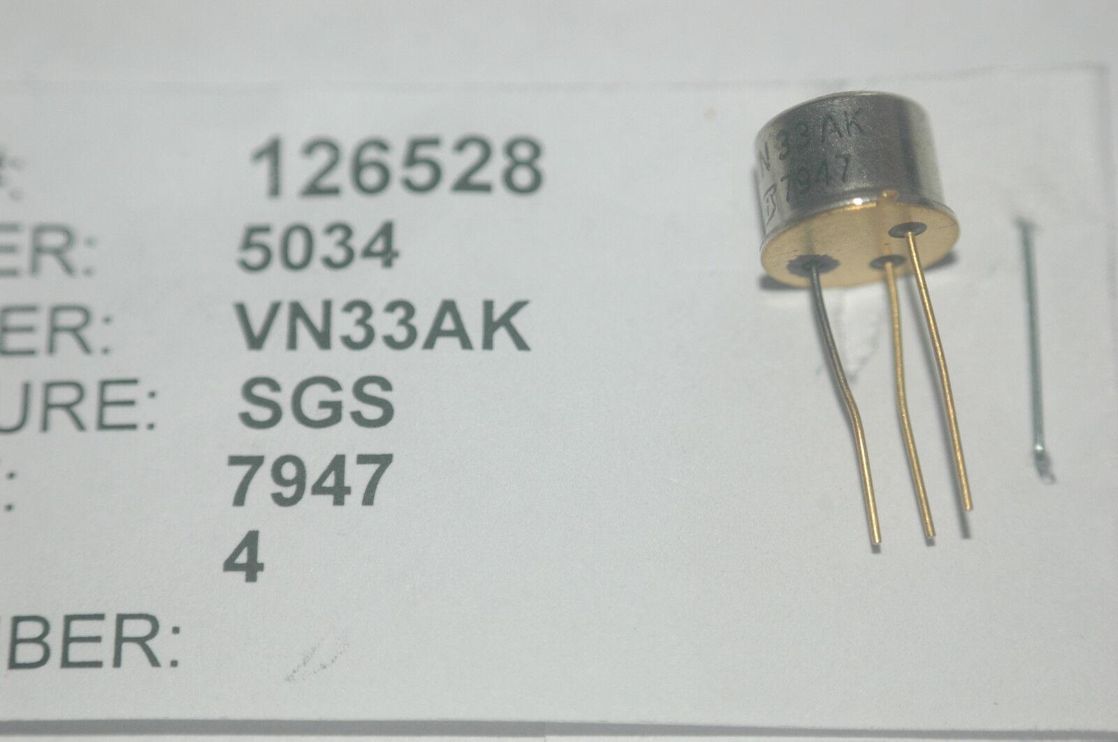 NOS 3 2N753 Transistor 3-Pin Gold Pins Vintage Part New Lot Quantity-3