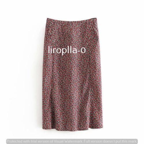 Pink//Black//green//blue//red polka//floral midi//mini skirt SIZE S-L c DESCRIPTION