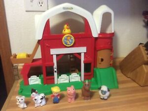 2013 Fisher Price Little People Barn w/Animal Sounds ...