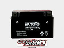 Batterie moto kyoto YTX7A-BS SYM Mio 100 2006 à 2013