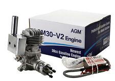 AGM 30cc Gasoline Engine AGM30 30cc Gas Engine  VS DLE30 Petrol Engine RC Plane