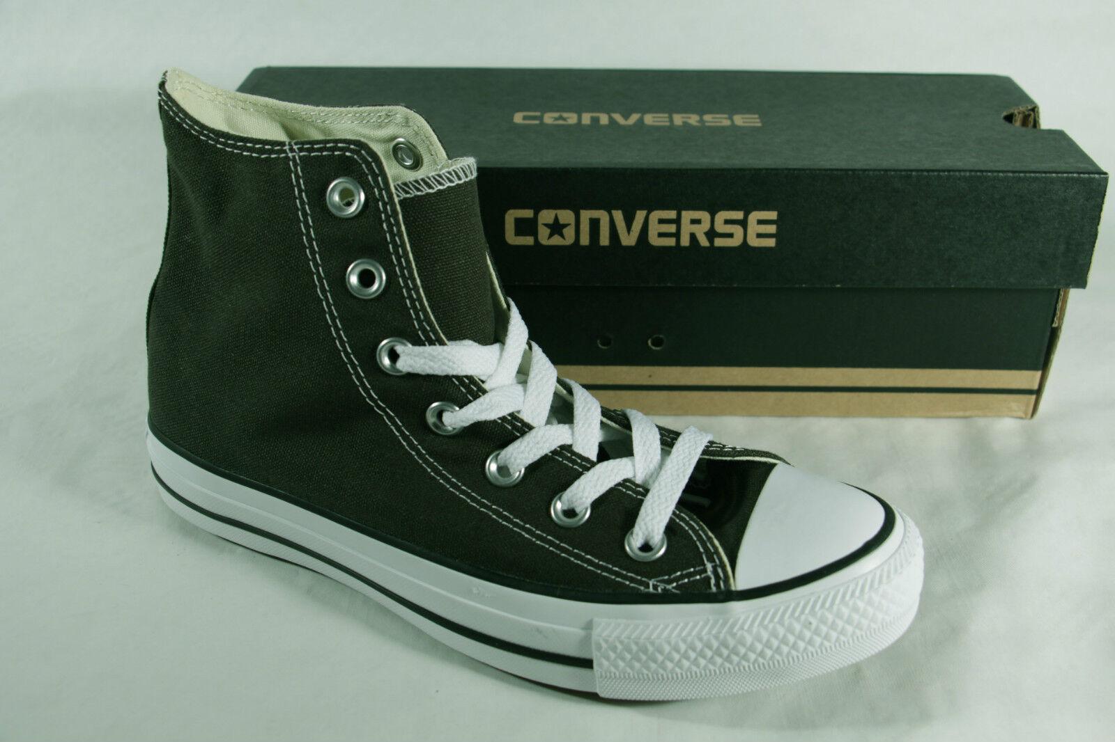 Converse ata All Star bota botas ata Converse verde oliva, textil/Leinen, nuevo b05539