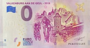 BILLET 0  EURO VALKENBURG AAN DE GEUL PAYS BAS  2019 NUMERO DIVERS