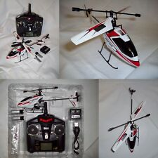 Hélicoptère ROUGE WLToys V911 4CH Gyro RC Heli Copter 2.4 GHZ Upgrade Red RTF