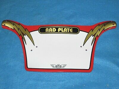Bicycle SE Bikes Rad Number Plate Red White and Gold for Big  Honkin Bars New