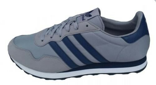 Adidas Mens Ocis Running Sports shoes g96469 UK 11 Grey Navy Nylon