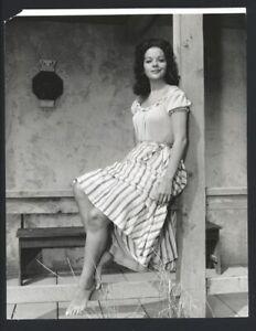 1960 YVETTE DUGUAY Leggy Barefoot Vintage Original Photo