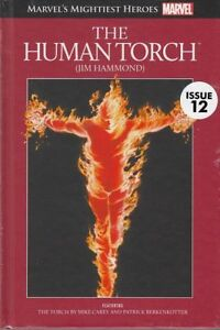 MARVEL-039-S-MIGHTIEST-HEROES-GRAPHIC-NOVEL-COLL-12-034-HUMAN-TORCH-034-HC