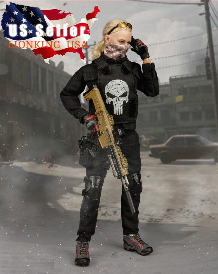 1 6 trajes conjunto un combate táctico para 12  Figura Femenina Phicen Hot Juguetes ❶ USA ❶
