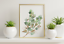 miniature 5 - Bathroom Prints Botanical Eucalyptus STUNNING FINE ART PICTURE Minimalist funny