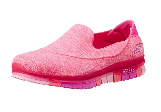 Skechers Go Flex, Damens's Trainers - Pink UK 3 EU 36 JS48 83