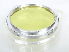 Zeiss Ikon Contarex B 56 Gelbfilter G 2x -1 mit Bajonettanschluss TOP mit Dose