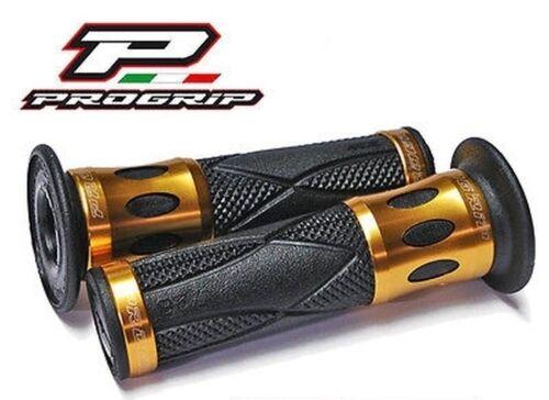 Progrip Lenkergriffe Alu Gold Yamaha YZF-R 125 YZF-R125 Y Z F R