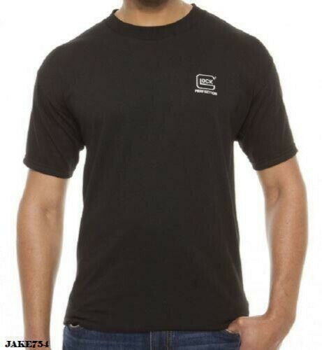 Glock Men's Perfection T-Shirt Large Short Sleeve Cotton free ship