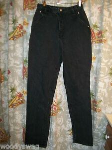 Wrangler-Jeans-Size-36-by-28-100-Cotton-Black