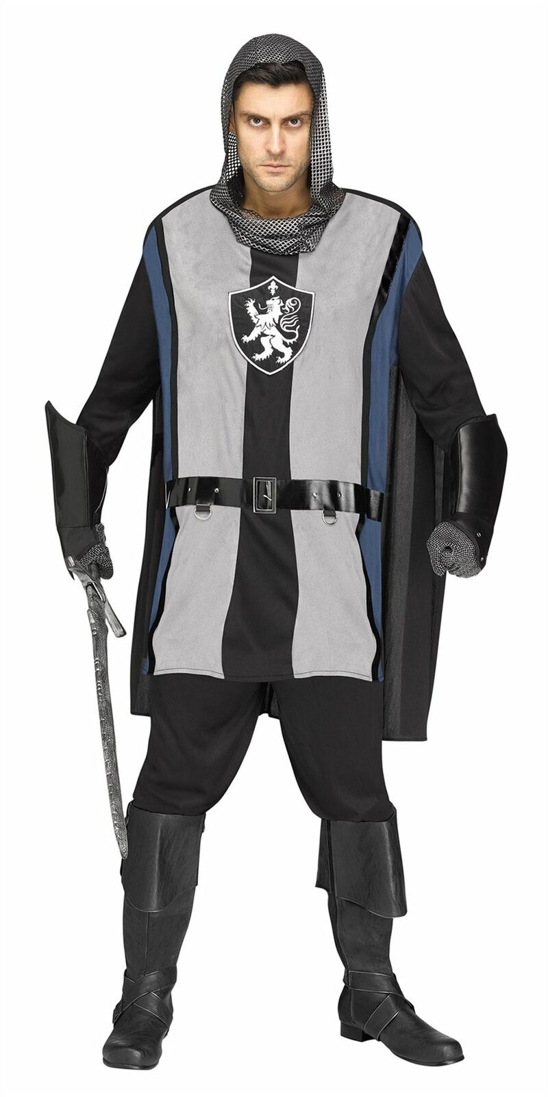 Lionheart Knight Adult Costume One Size FW134764