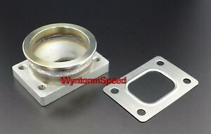 T25-GT25-GT28-T28-Turbo-Inlet-To-3-034-V-Band-Stainless-Steel-Flange-Adp-w-Gasket