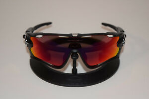 3a367b3589 Brand New Oakley Jawbreaker Black Ink with OO Red Iridium Polarized ...