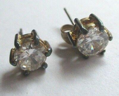 Intelligente Boucles D'oreilles Percées Clou Couleur Or Cristal Diamant Solitaire Zircon 752 Styling Aggiornato
