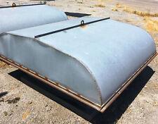 Flat Roof Exhaust Vent Welded Seams Galvanized With Bird Screen