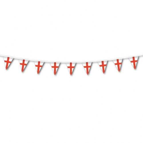 Partyware {fixed £1 UK p/&p} NEW FLAGS BANNERS BALLOONS ENGLAND//ST GEORGE