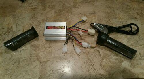Razor E500S ES500 E500-Upgraded accélérateur et contrôleur électrique kit
