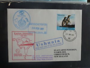 NEW-ZEALAND-2002-AAT-EXPEDITION-ICE-BREAKER-10th-ANNIV-SOUVENIR-COVER