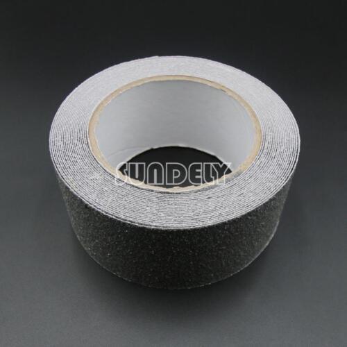 "3/"" x 33/' Gray Anti Slip Tape Grit Non-Skid Stair Bathroom Self Adhesive"