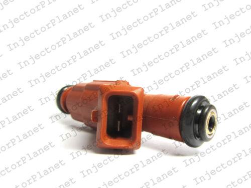 Set of 5 Bosch 0280155831 fuel injectors 1999-2000 Volvo S70 2.4T B5244T 9186340