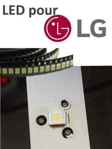LG LED Hintergrundbeleuchtung Backlight TV 3V 1W 100LM 47LN5400 amp OTHERS