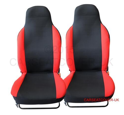 Pair of PREMIUM Red /& Black Car Seat Covers Mazda MX-5