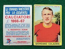 CALCIATORI 1966/67 66/1967 ROMA Giordano COLAUSIG Figurina Sticker Panini (NEW b