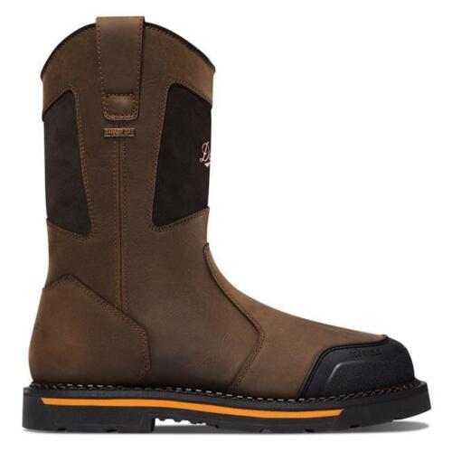 "Details about  /Danner Mens 13248 Trakwelt Wellington 11/"" Brown Work EH Waterproof Boots 10.5 EE"