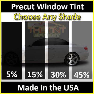 Precut Window Tint Kit Automotive Window Film Includes: Front Windshield Visor precut in 15/% Fits: 2018-2019 Jeep Wrangler JL Hardtop 2-Door