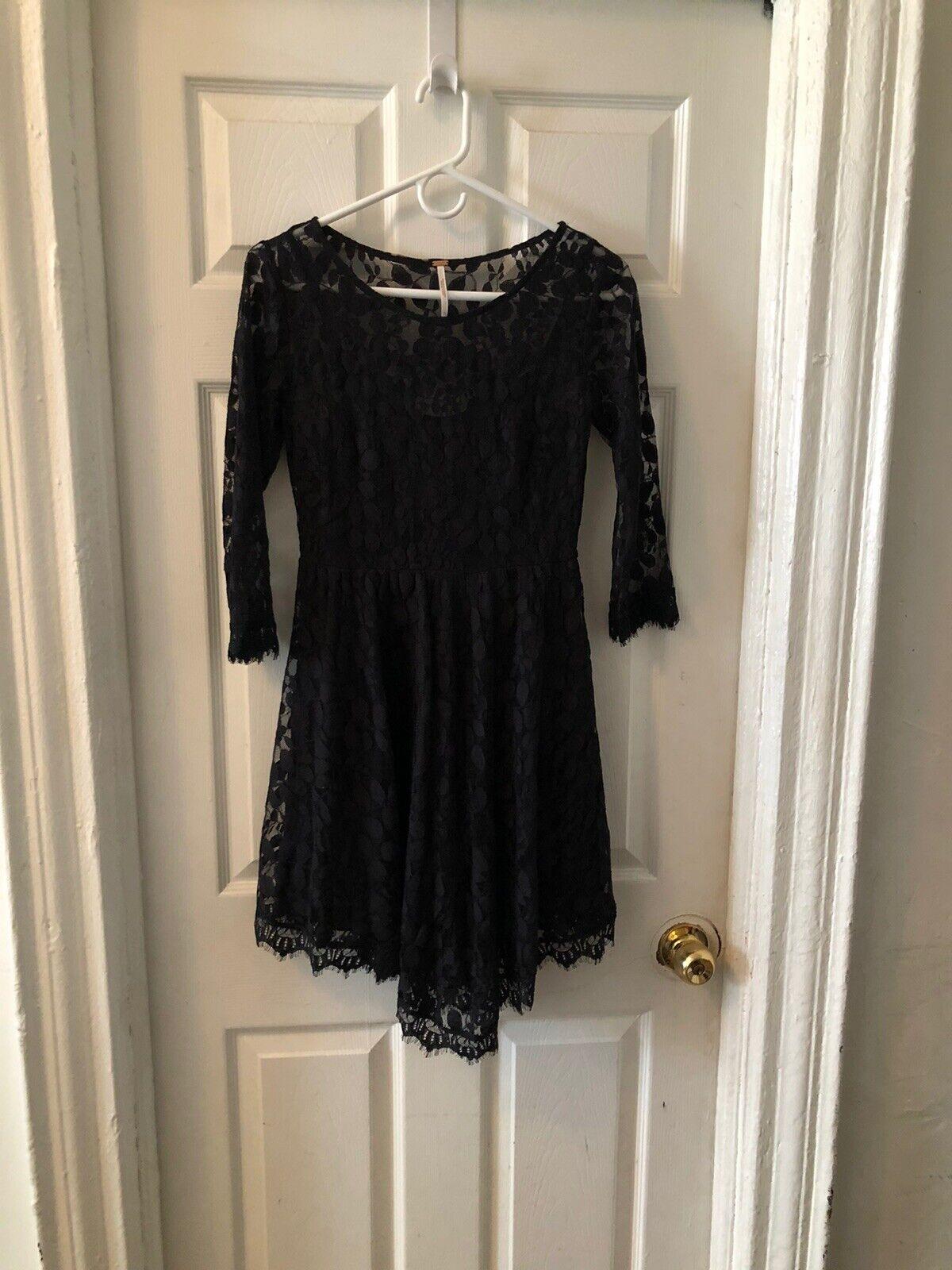 Free People Black Dress - image 4
