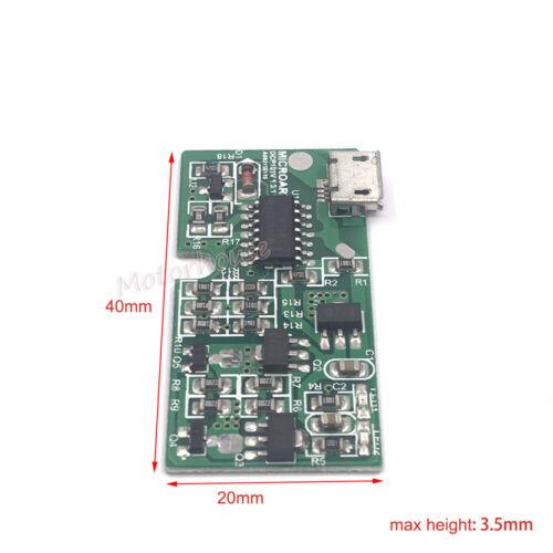 5V USB 3.8V 3.82V Li-ion Polymer Lipo Battery 4.3V Charger Module Charging Board