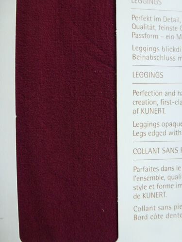 KUNERT Leggings Leggins blickdicht matt 51den MINILACE 38-46 Strumpfhose NEU